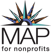 logo for MAP for nonprofits